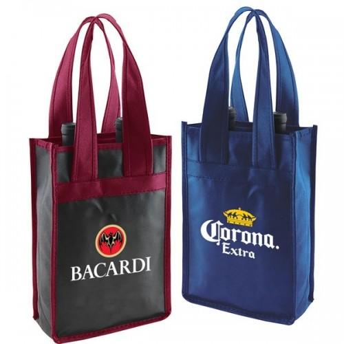 2-Bottle Vineyard Wine Bags - W12