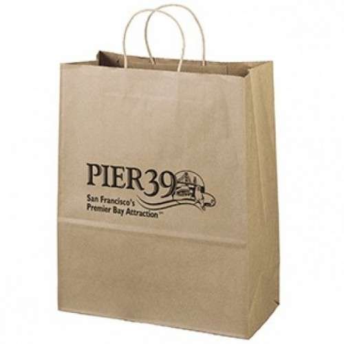 Comfort Maple Recycled Paper Bag - RP1