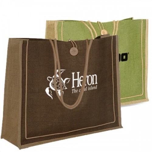 Custom Eco-Friendly Jute Bags - JT15