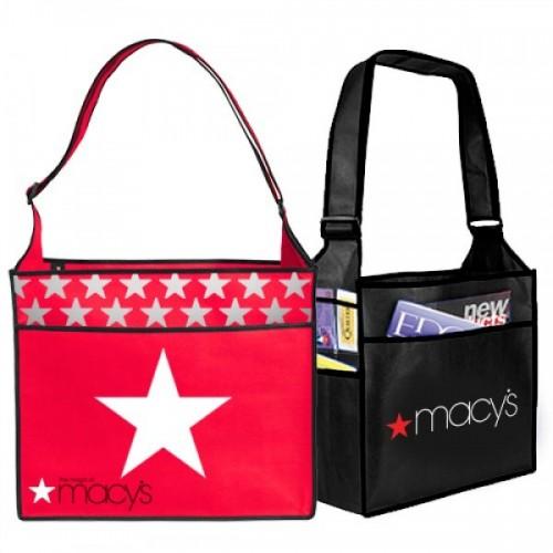 Custom Non-Woven Messenger Bags - NW19