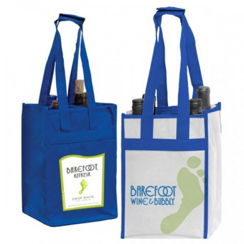 4-Bottle Vineyard Bags - W13