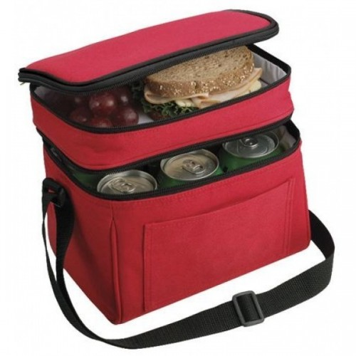Reusable Wholesale Insulated Totes - Red - CL7