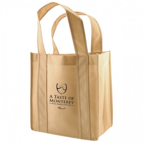 6-Bottle Reinforced Wine Bags - Natural - W4