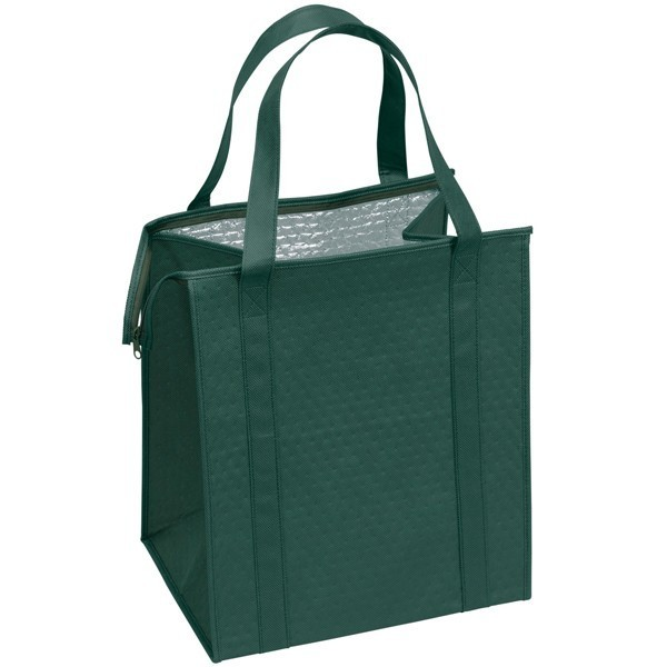 Custom Large Insulated Cooler Totes Green Cl1
