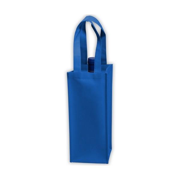 041afa13c839 ... Custom Recycled Wine Bags - Royal Blue - W11