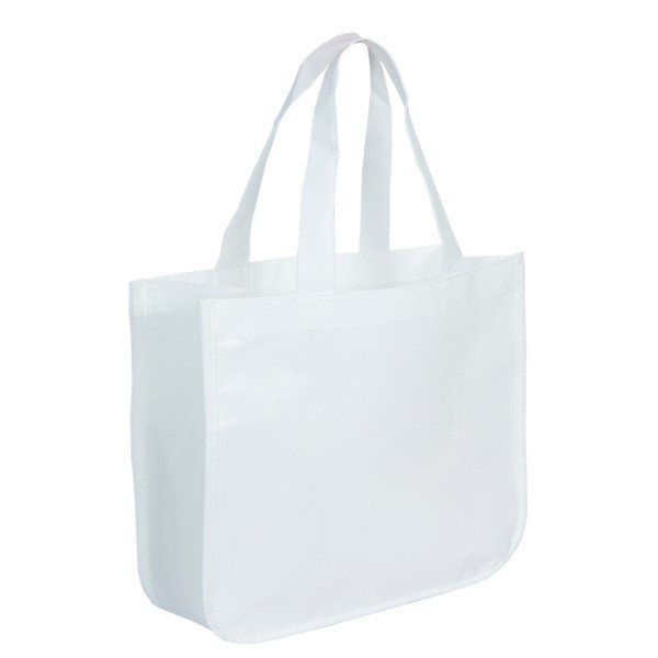 Recycled Pre-Printed Shopping Totes | Reusable Bags