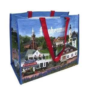 Full Color Custom Recycled Bags - Left