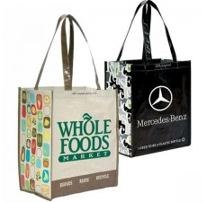 100% Recycled P.E.T. Glossy Shopper - RG10
