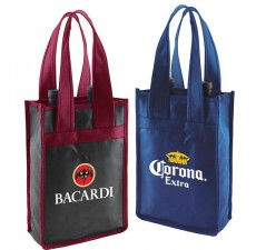 2-Bottle Vineyard Wine Bags - W12