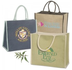 Custom Eco Grocery Jute Totes