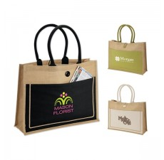 Eco-Friendly Jute Rainforest Tote Bags