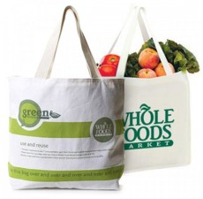 Promotional Bamboo Market Totes - Natural - BB1