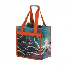 Recycled PET 6-Bottle Wine Bags - W9