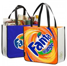 Recycled Pre-Printed Shopping Totes - RG6