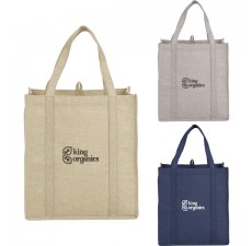 Reusable Mammoth Jute Grocery Bags - JT1A