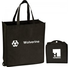 Reusable Recycled Folding Tote -  FT8