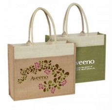 Reusable Promotional Jute Totes - JT11