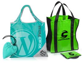 Folding Bags Custom Grocery